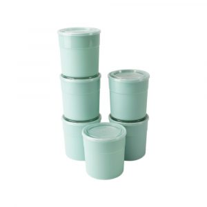 6 copos com tampa